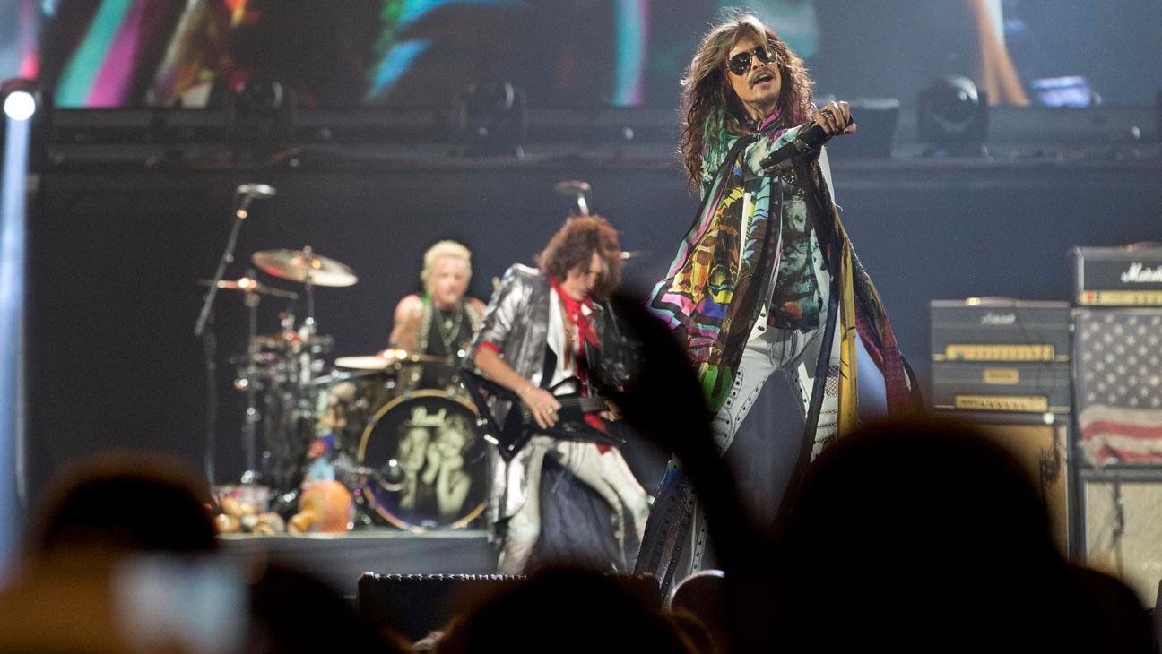Aerosmith at the Forum - H 2014