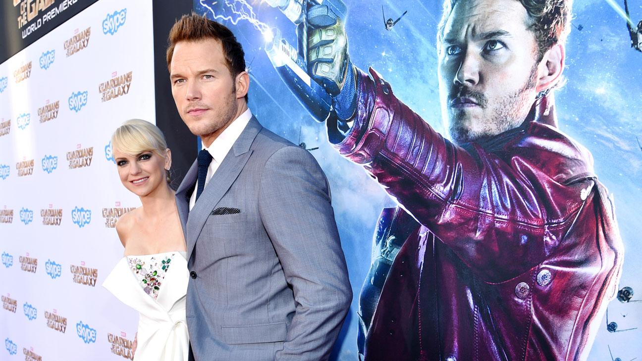 Anna Farris Chris Pratt Guardians of the Galaxy - H 2014