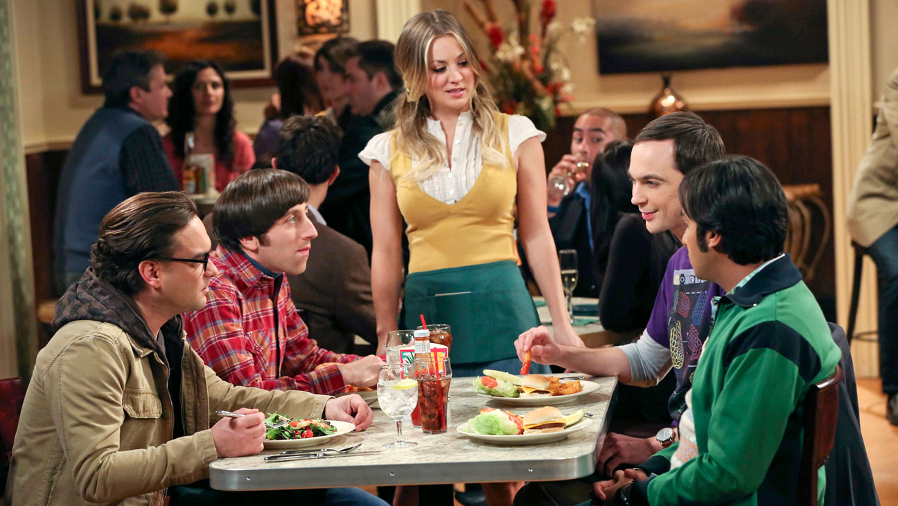 The Big Bang Theory Cast Restaurant - H 2014