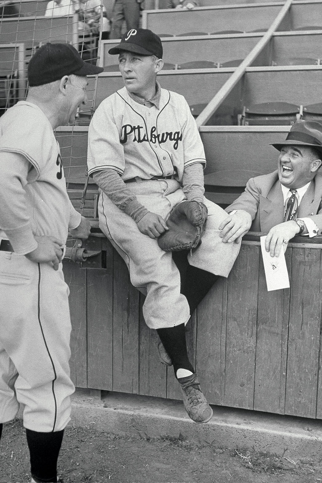 Bing Crosby Tries Baseball - P 2014