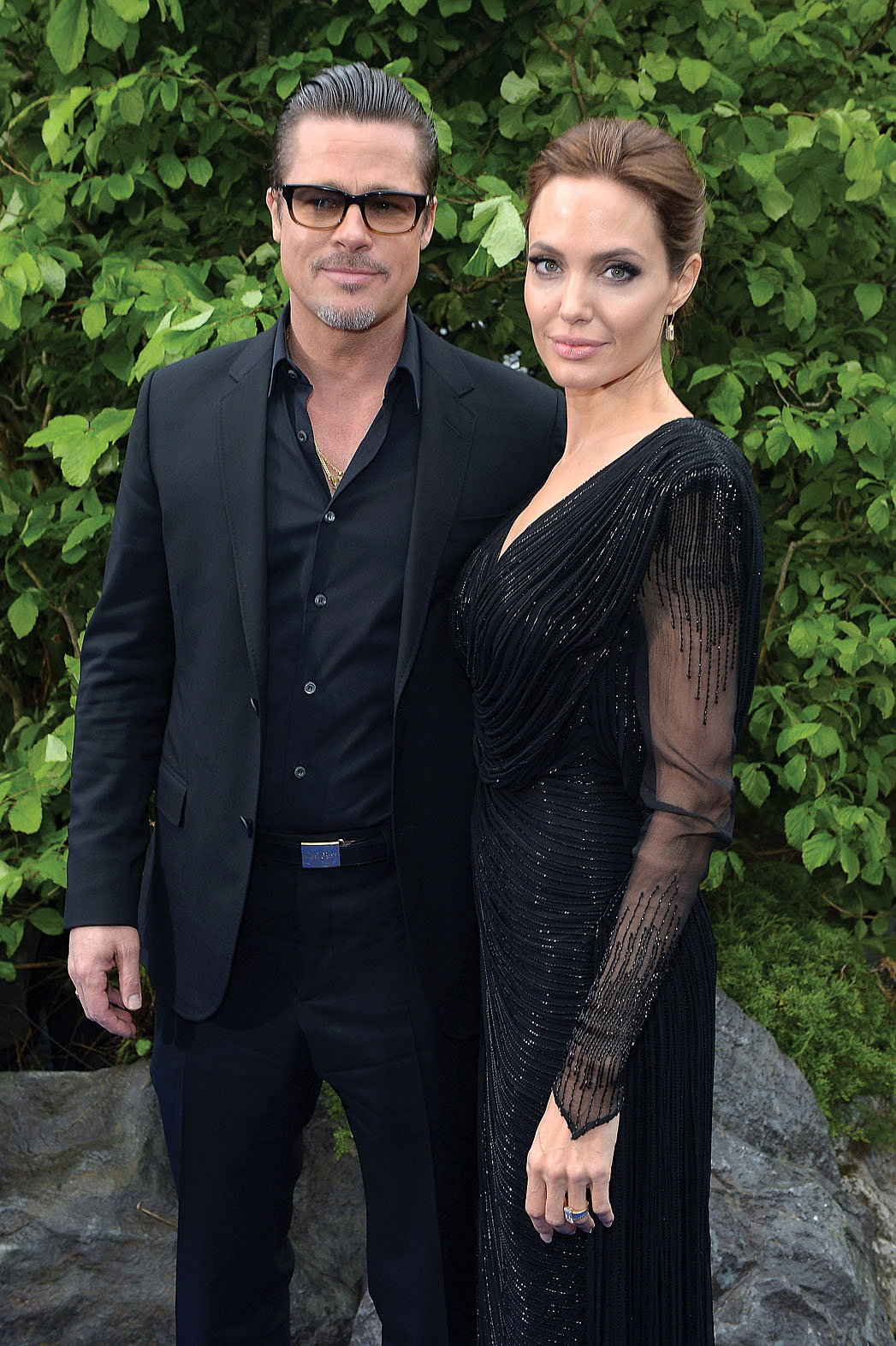 Brad Pitt Angelina Jolie Kensington Palace - P 2014