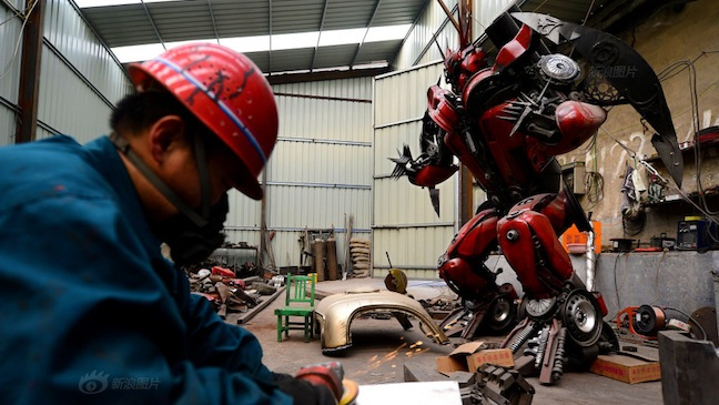 Chinese Transformers Replica - H
