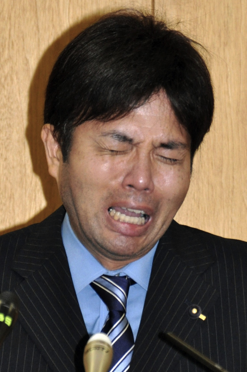 Crying Japanese Politician - P
