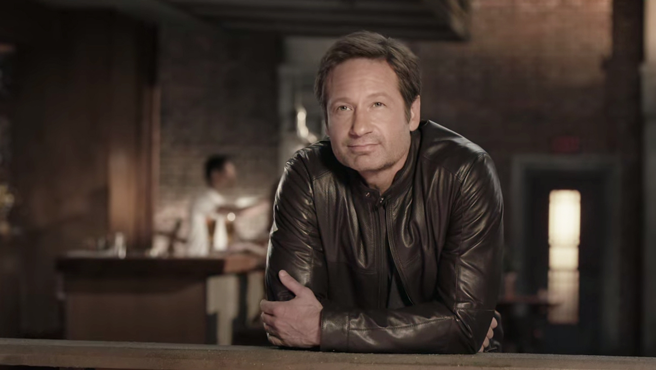 David Duchovny Beer Commercial 2014 H