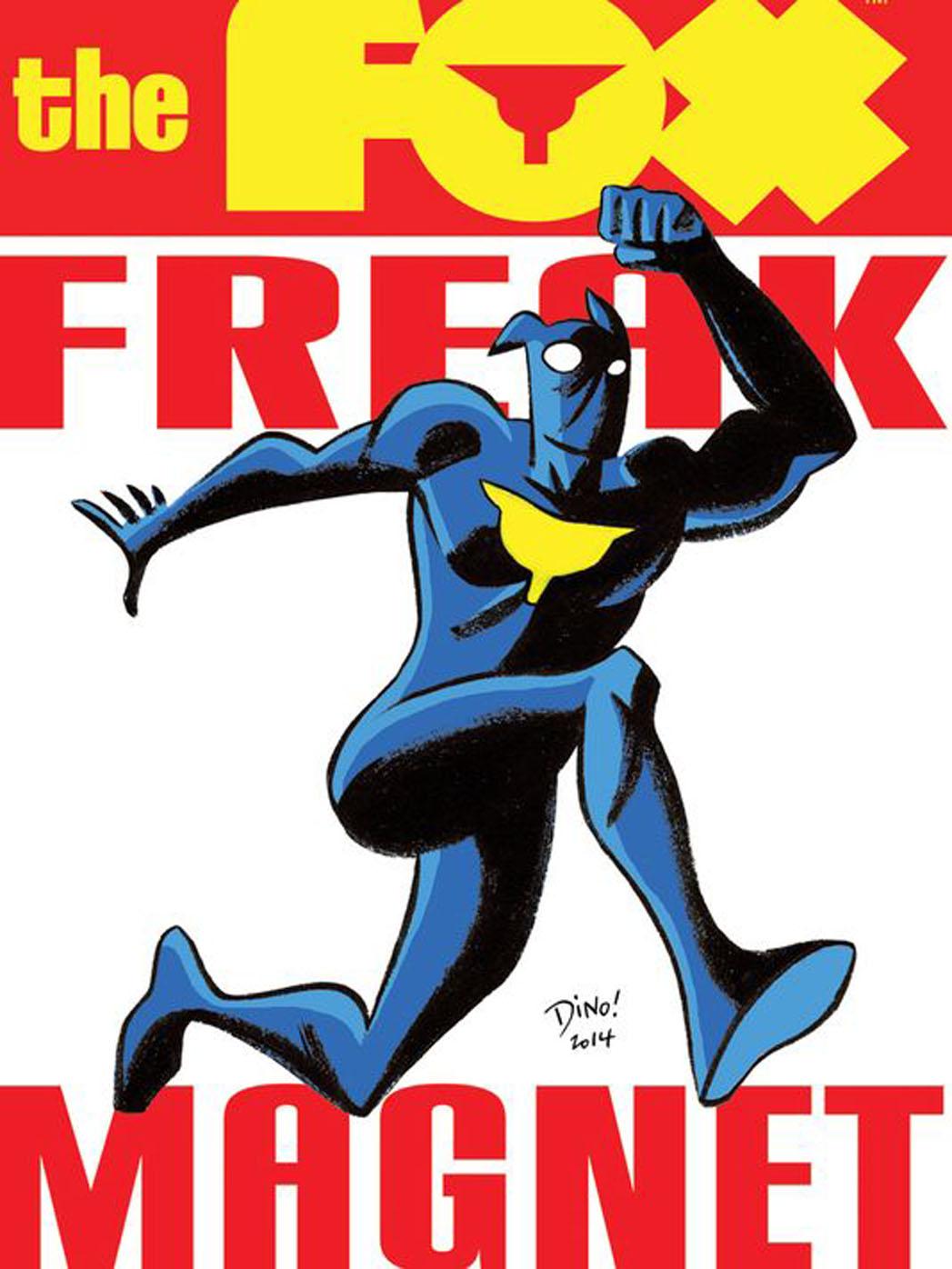 Fox Freak Magnet - P 2014