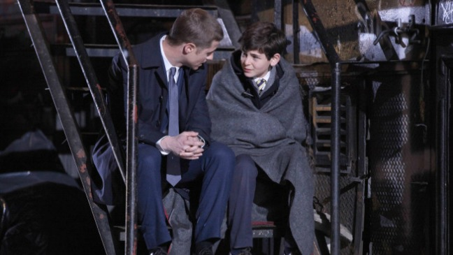 Gotham Ben McKenzie David Mazouz Still - H 2014
