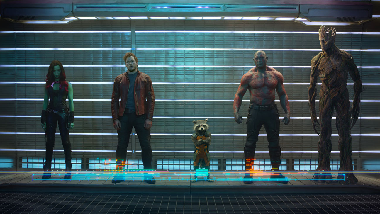 The stars of 'Guardians of the Galaxy'