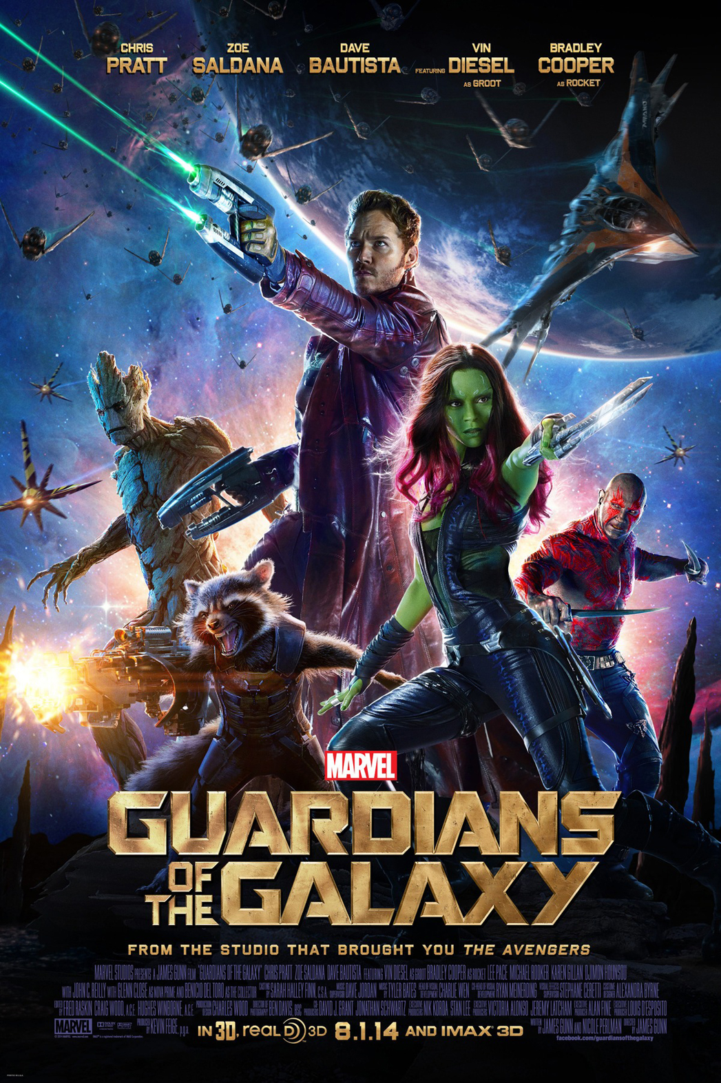 Guardians of the Galaxy Poster 2014 P
