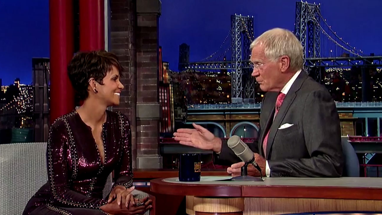 Halle Berry David Letterman - H 2014