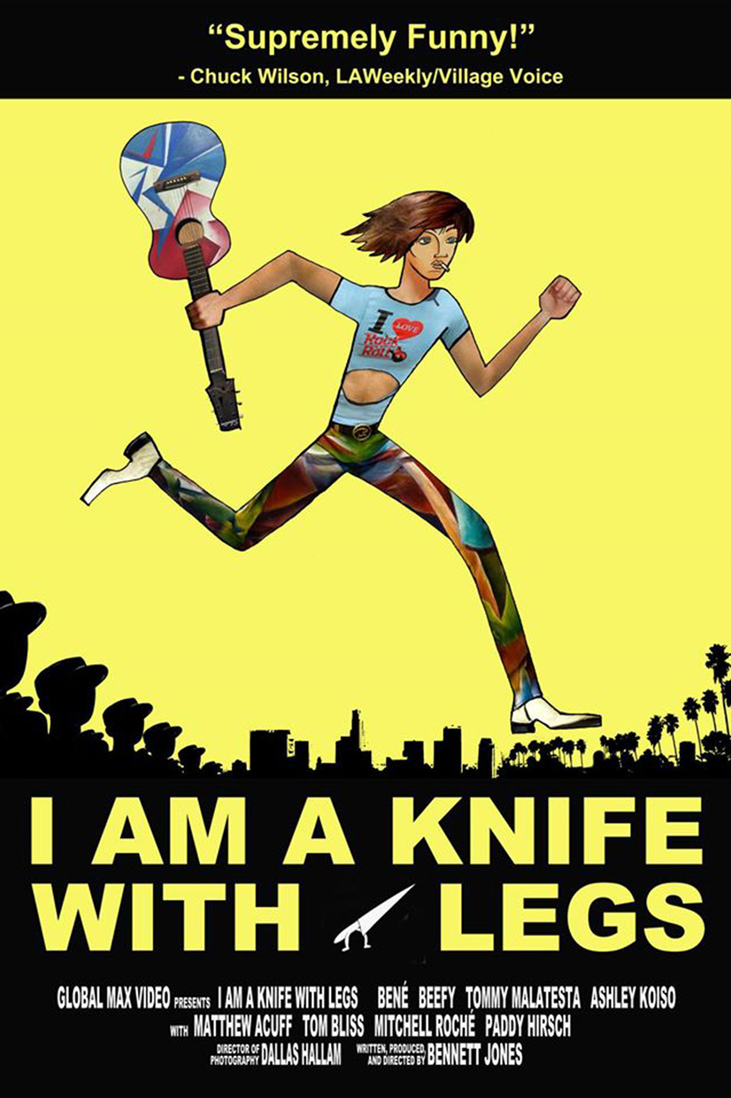 I Am A Knife With Legs Poster - P 2014