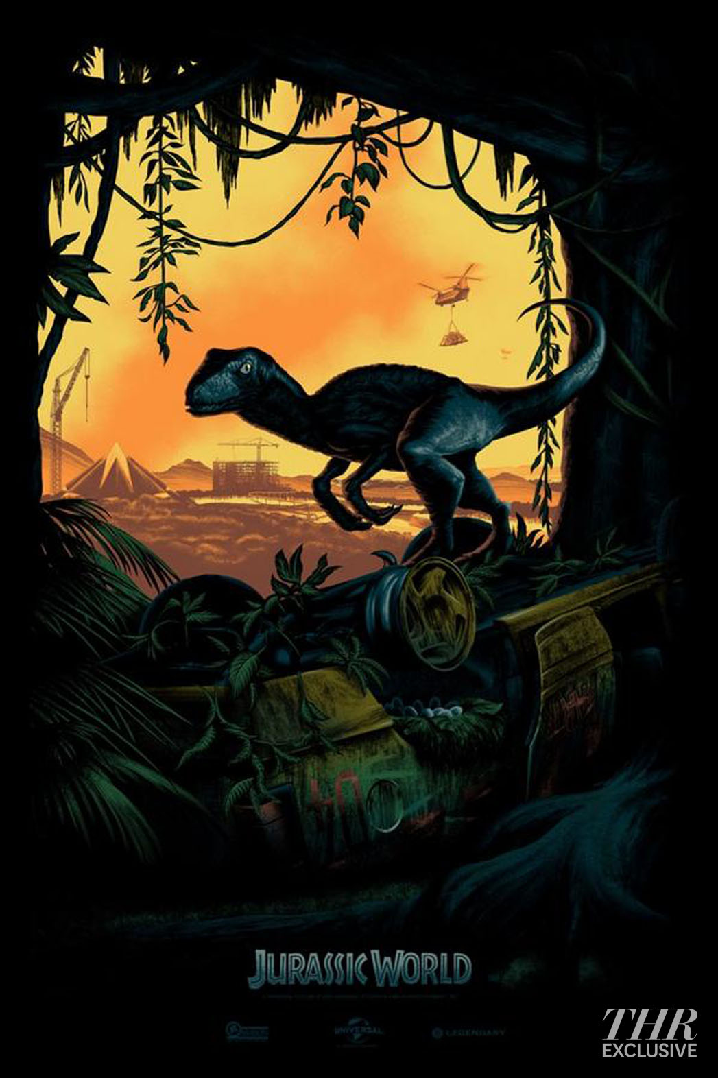 Jurassic World Comic-Con Exclusive - P 2014