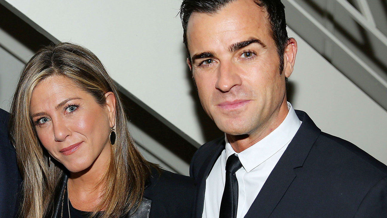 Justin Theroux Jennifer Aniston - H 2014