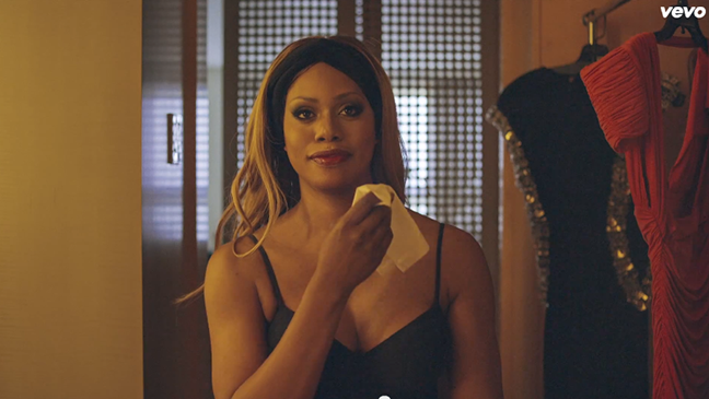 Laverne Cox in John Legend Video - H 2014