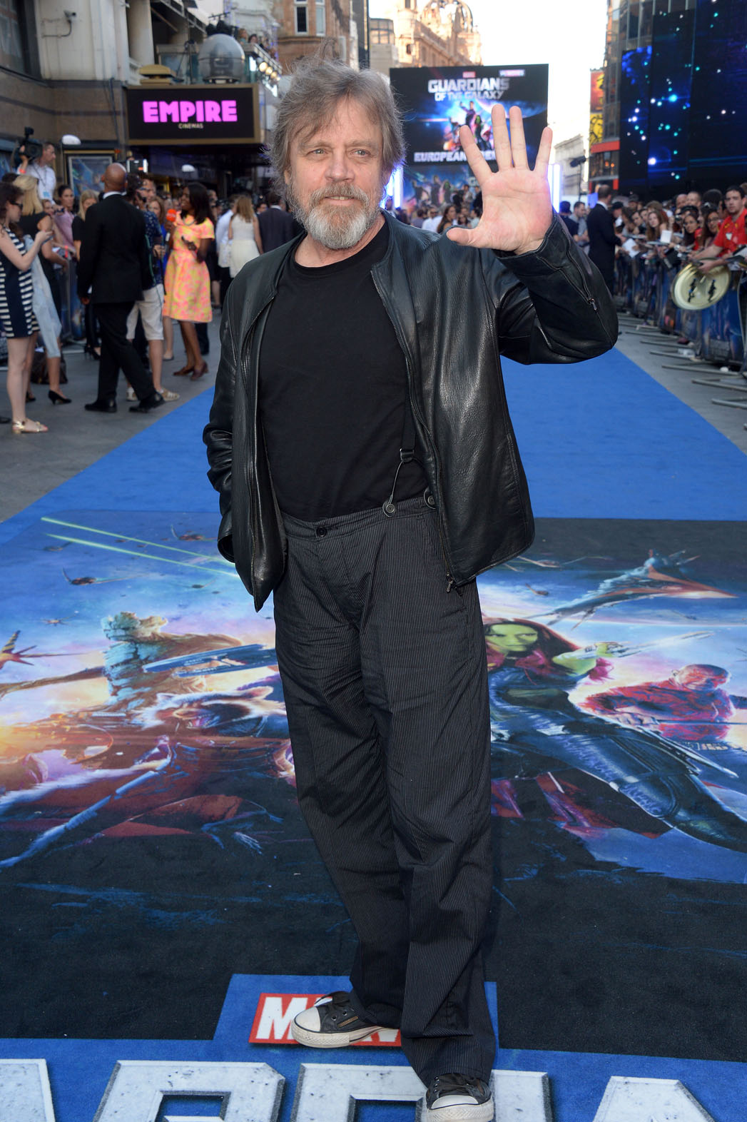Mark Hamill Guardians Premiere - P 2014