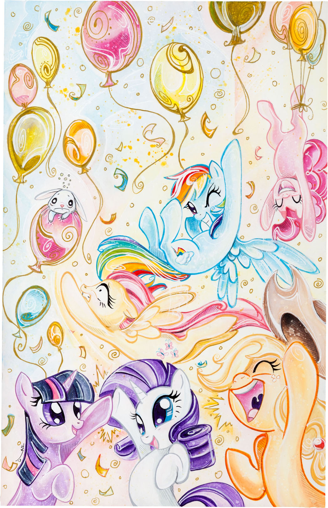 idw hasbro team for 'my little pony' charity auction