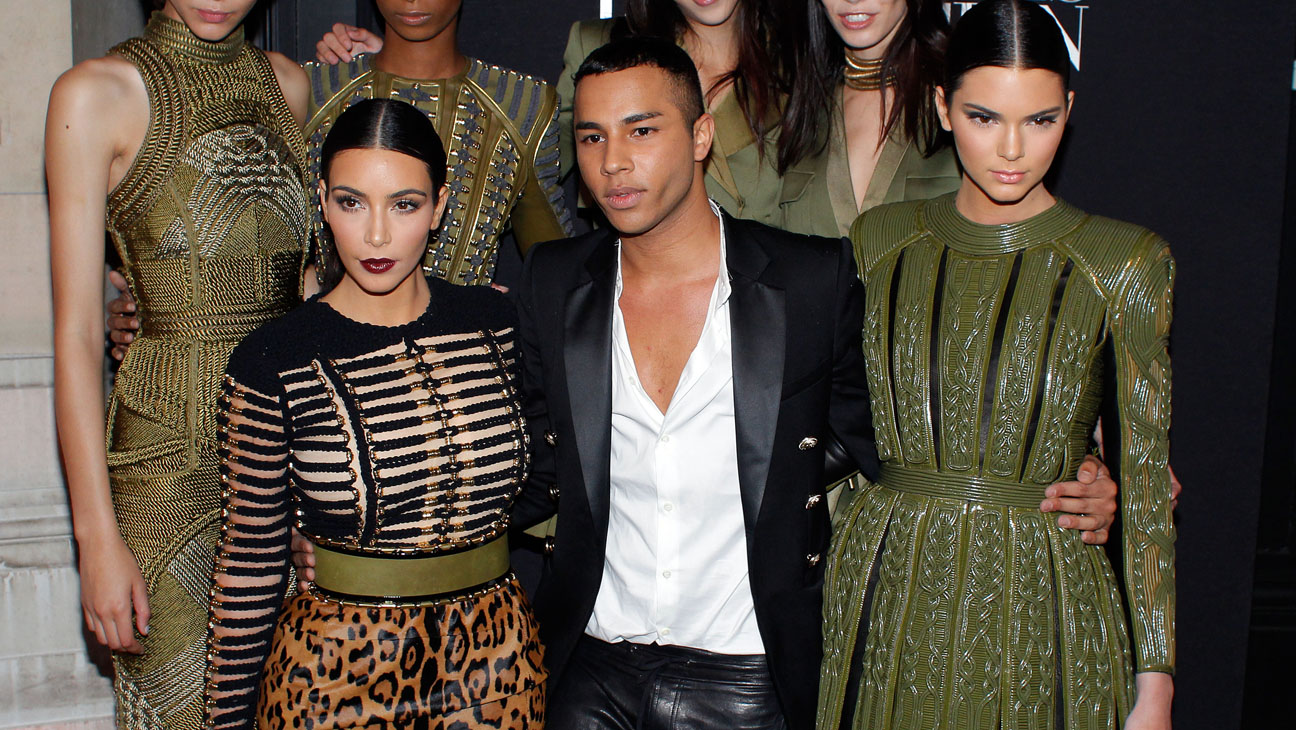 Balmain S Olivier Rousteing I Love Seeing A Zara Window With My Clothes Hollywood Reporter