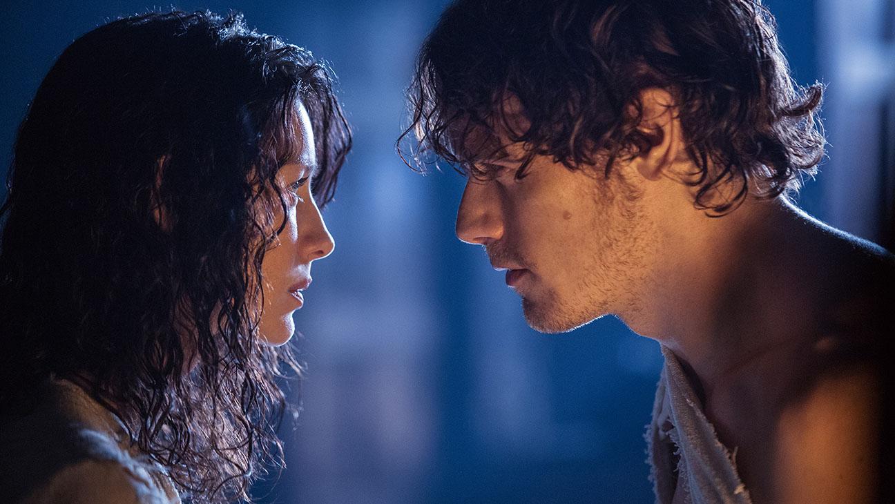 Outlander Still Caitriona Balfe Sam Heughan - H 2014