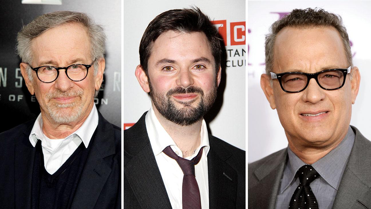 Spielberg Charman Hanks Split - H 2014