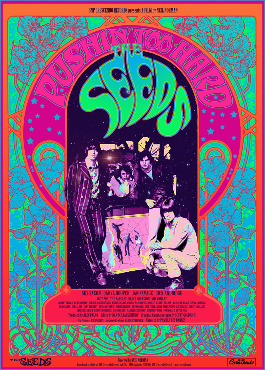 The Seeds Poster Art - P 2014