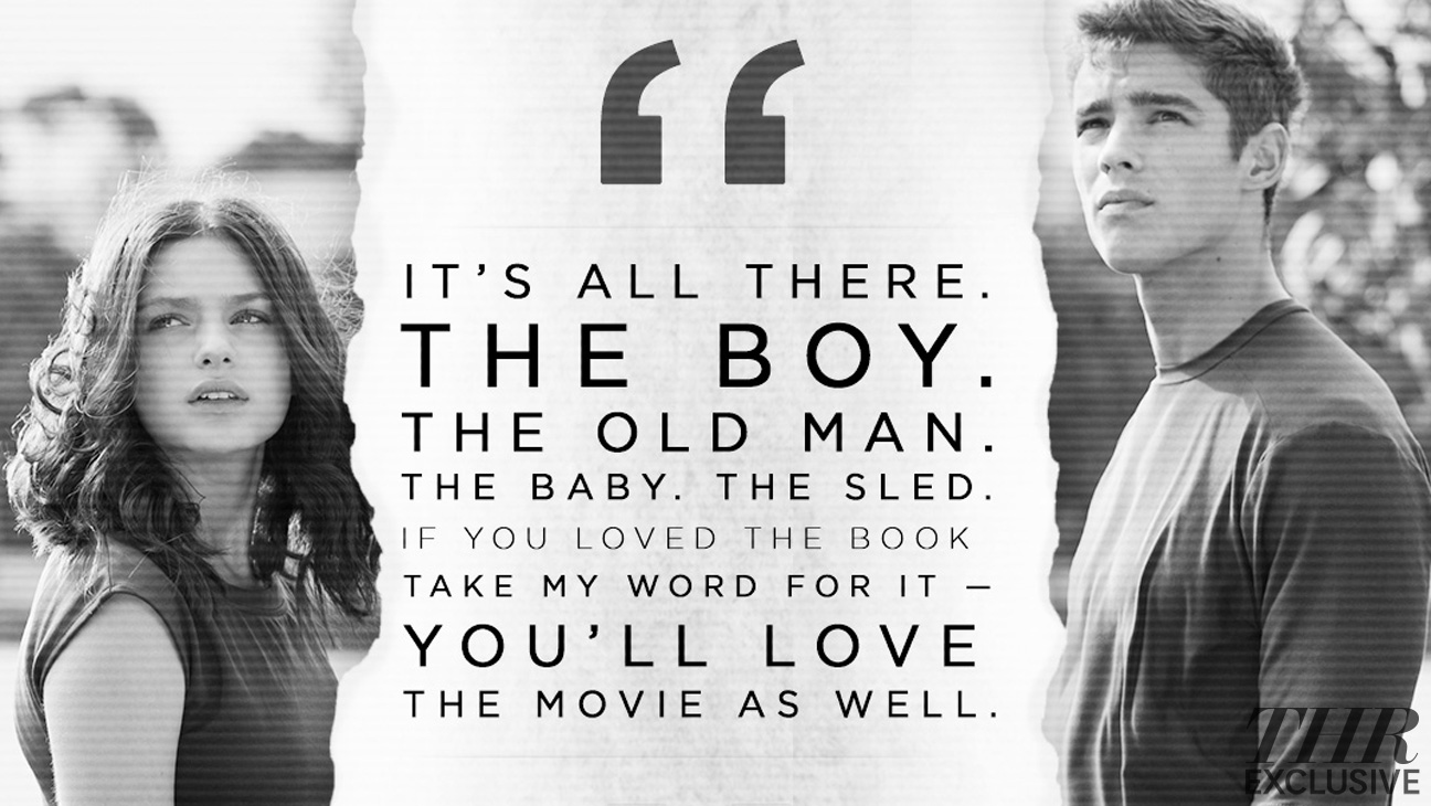 The Giver Movie Quote THR Exclusive - H 2014