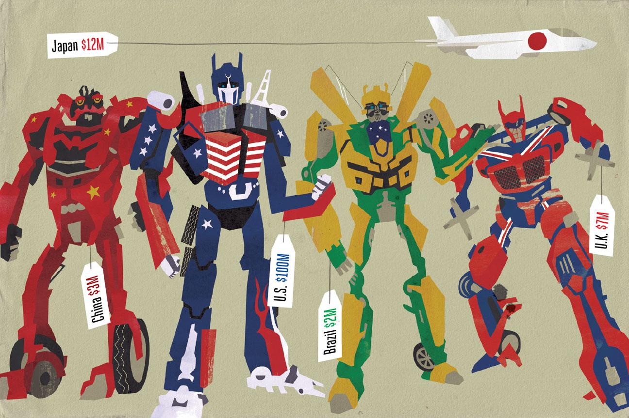 Transformers Illustration - H 2014