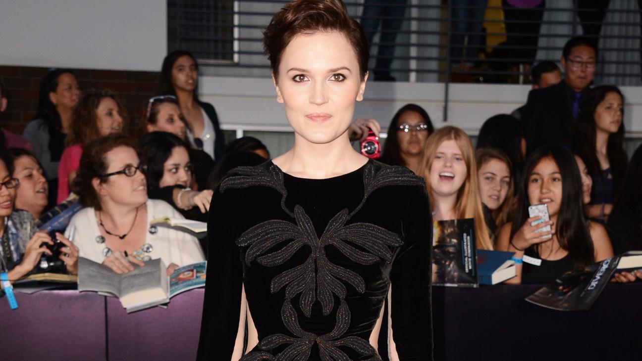 Veronica Roth Divergent Premiere - H 2014