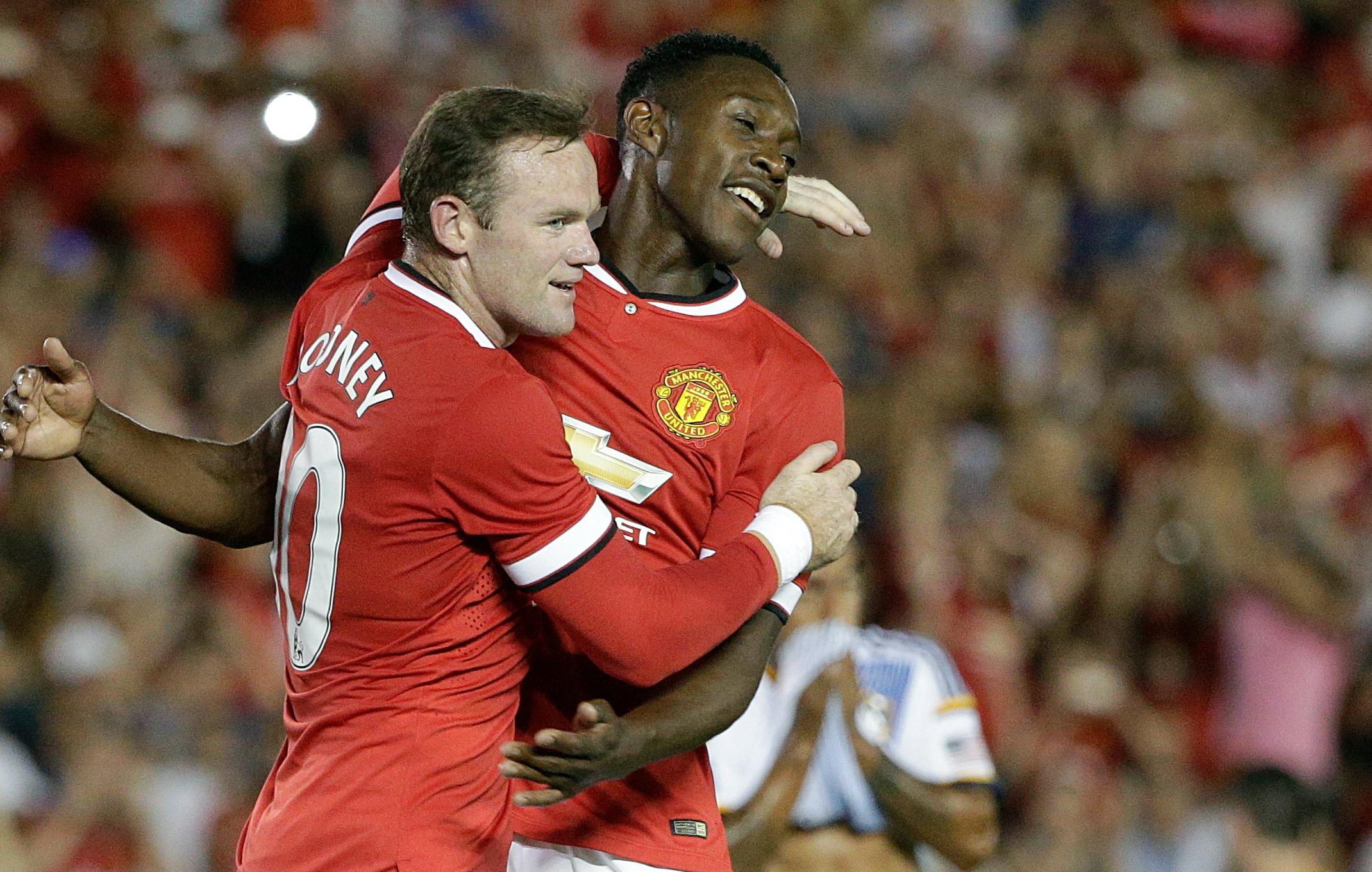 Wayne Rooney Danny Welbeck - H 2014