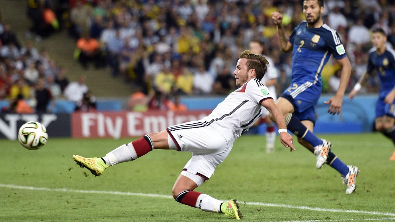 World Cup Final Winning Goal Germany - H 2014