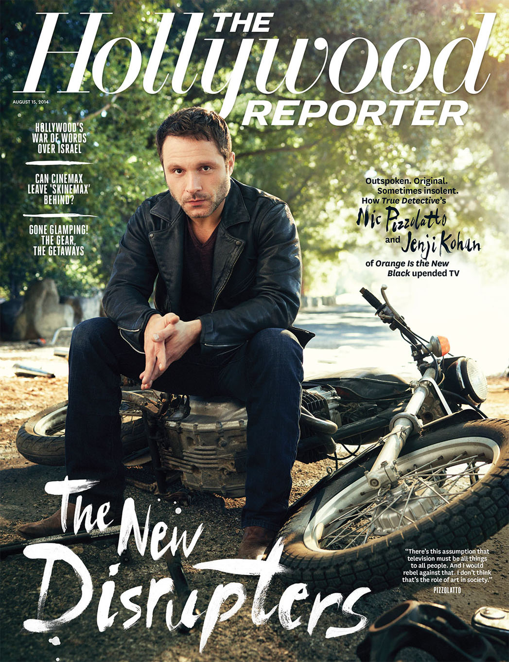 Issue 28 Cover Nic Pizzolatto - P 2014