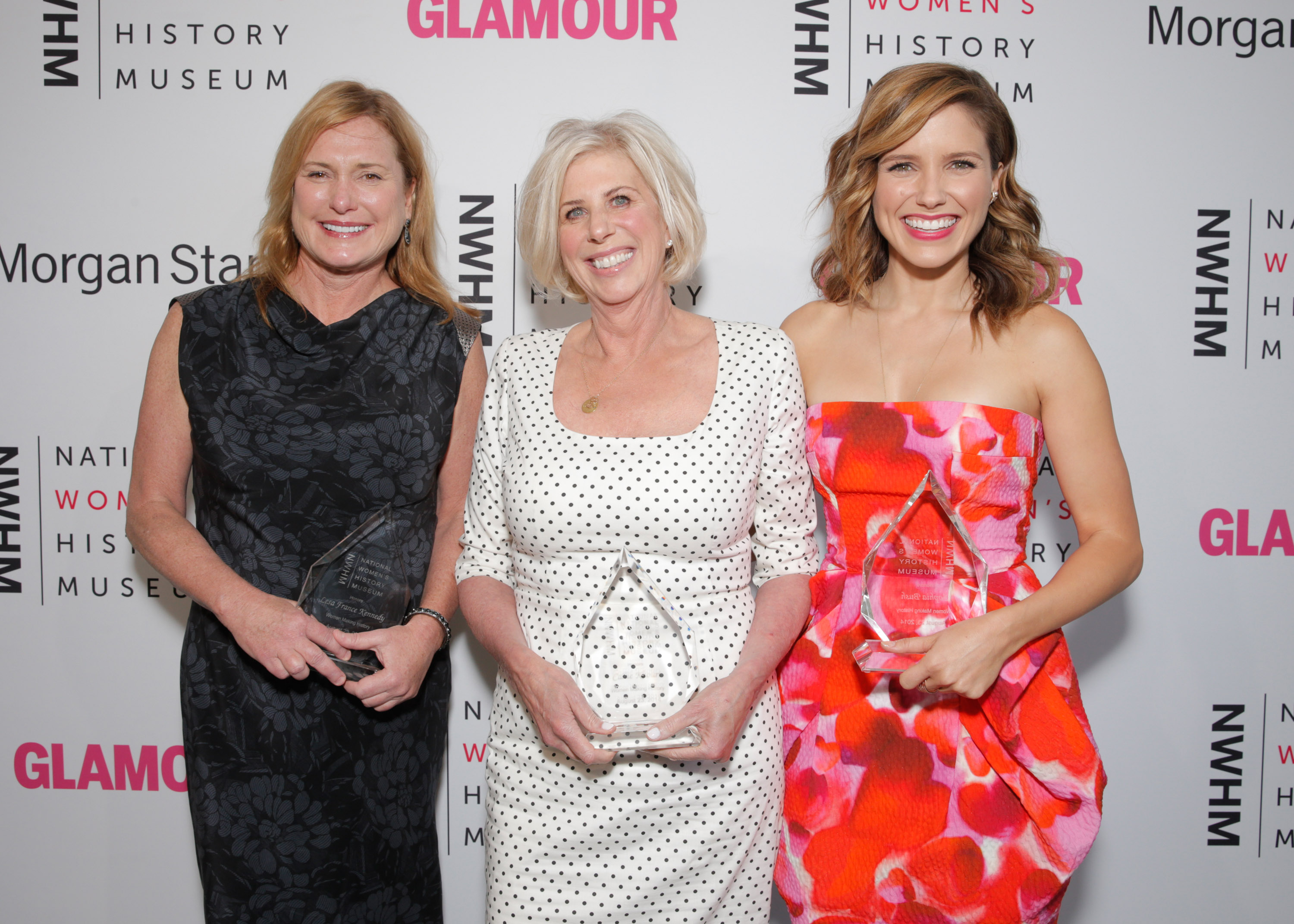 Lesa France Kennedy, Callie Khouri and Sophia Bush