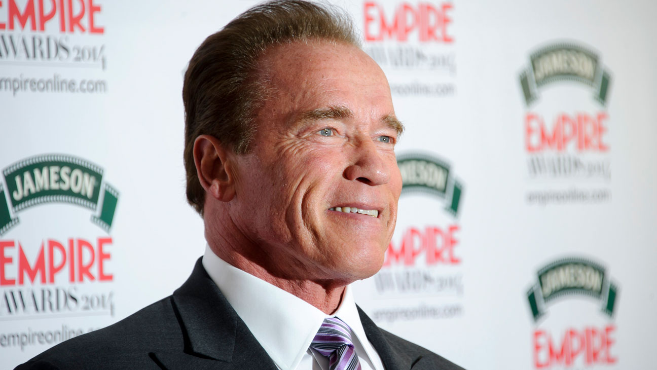 Arnold Schwarzenegger Empire Awards - H 2014