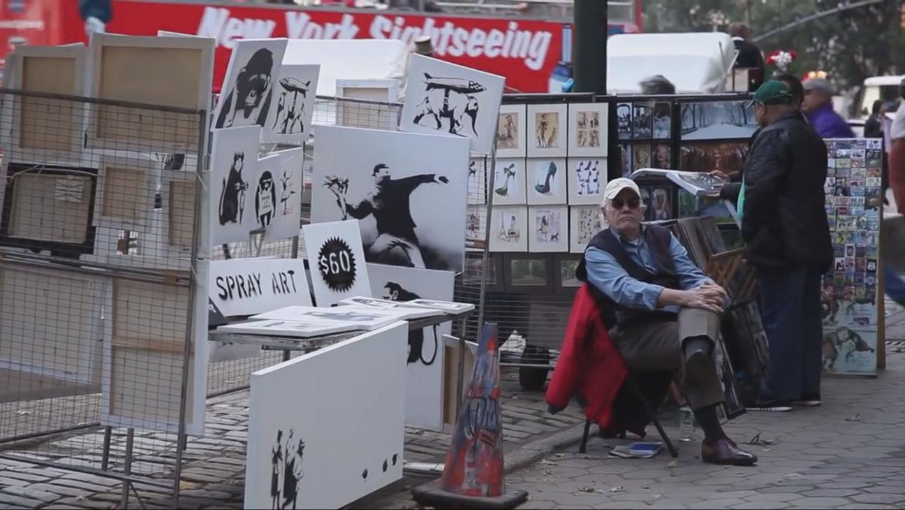 Banksy Does New York - H 2014
