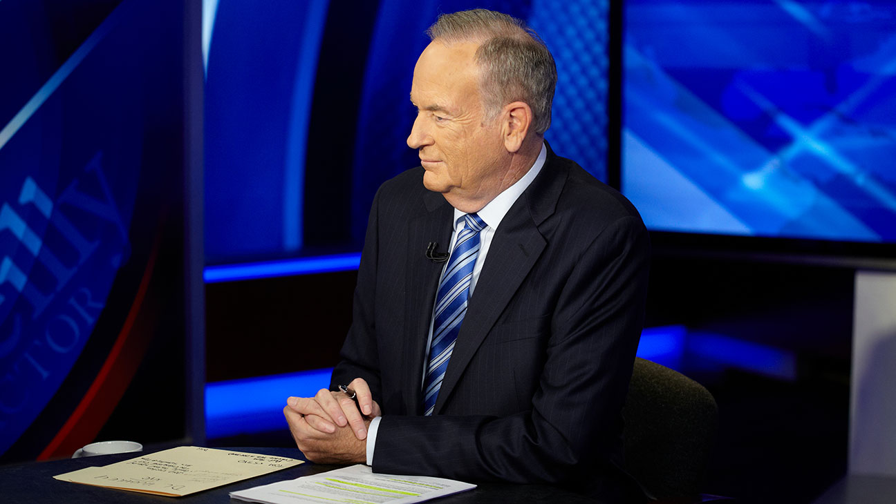 Bill O'Reilly at Desk - H 2014