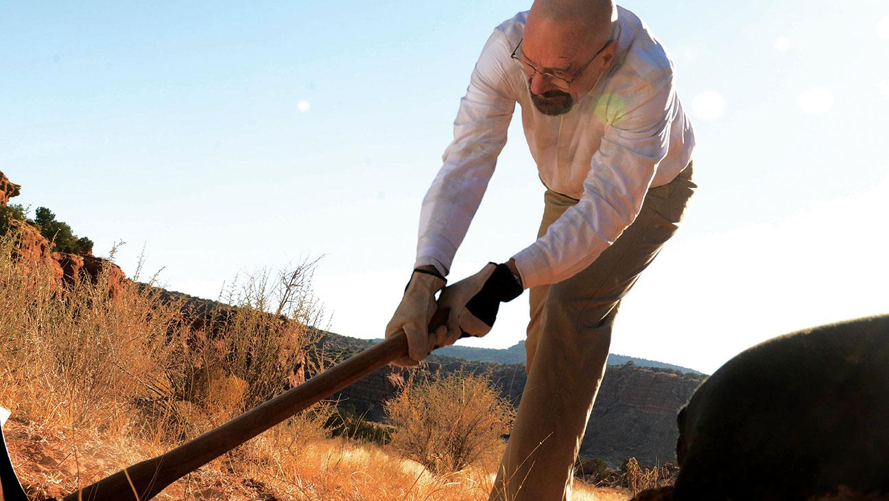 Breaking Bad Pickaxe Walter White Still - H 2014