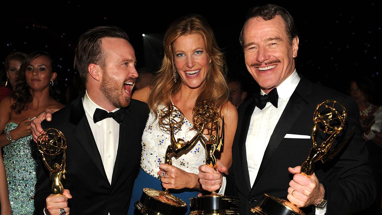 Emmys - Breaking Bad - Cranston, Gunn, Paul - H 2014