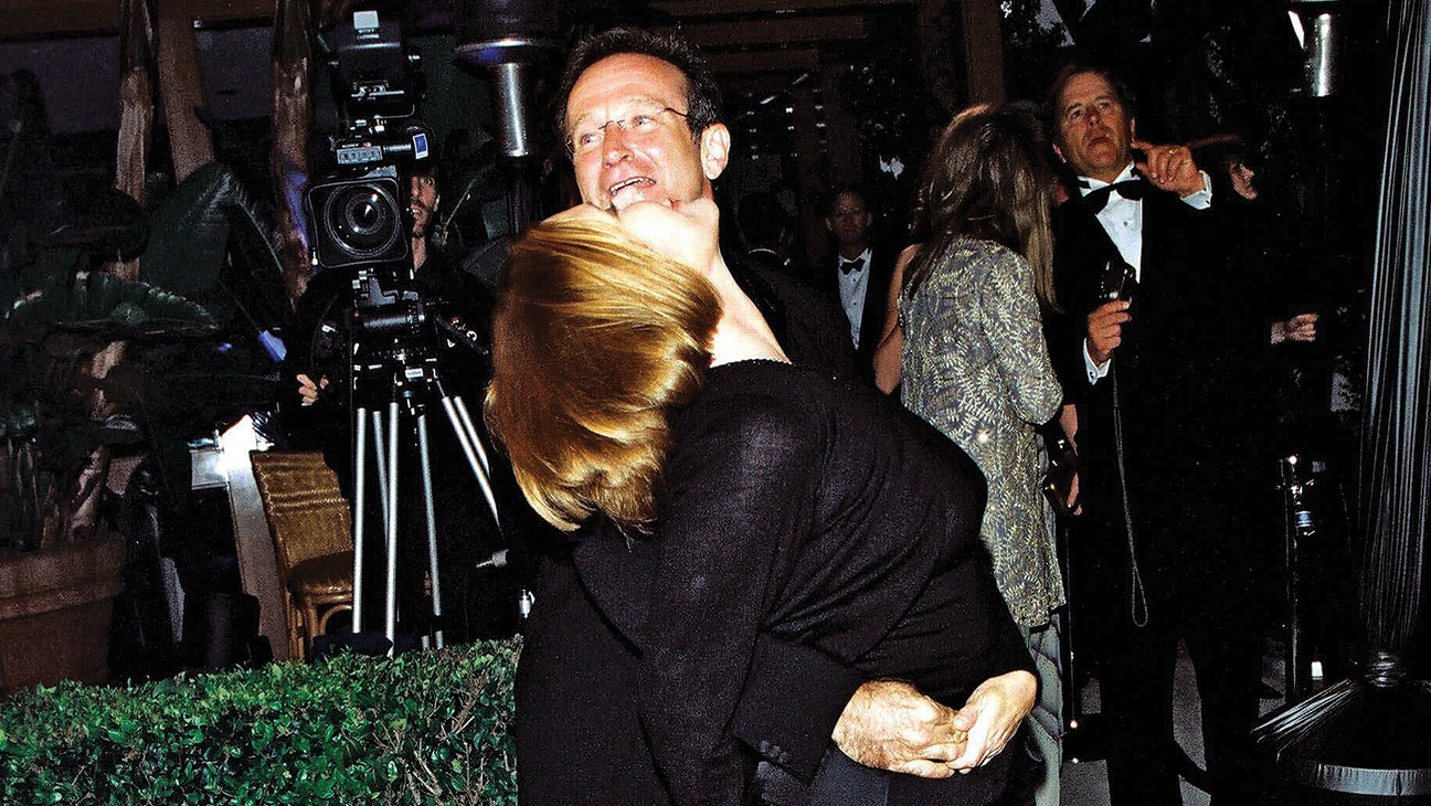 Carrie Fisher Robin Williams - H 2014