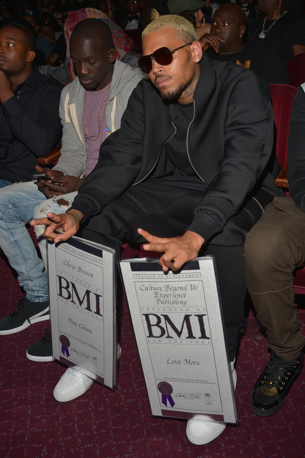 Chris Brown BMI Awards 2 2014 P