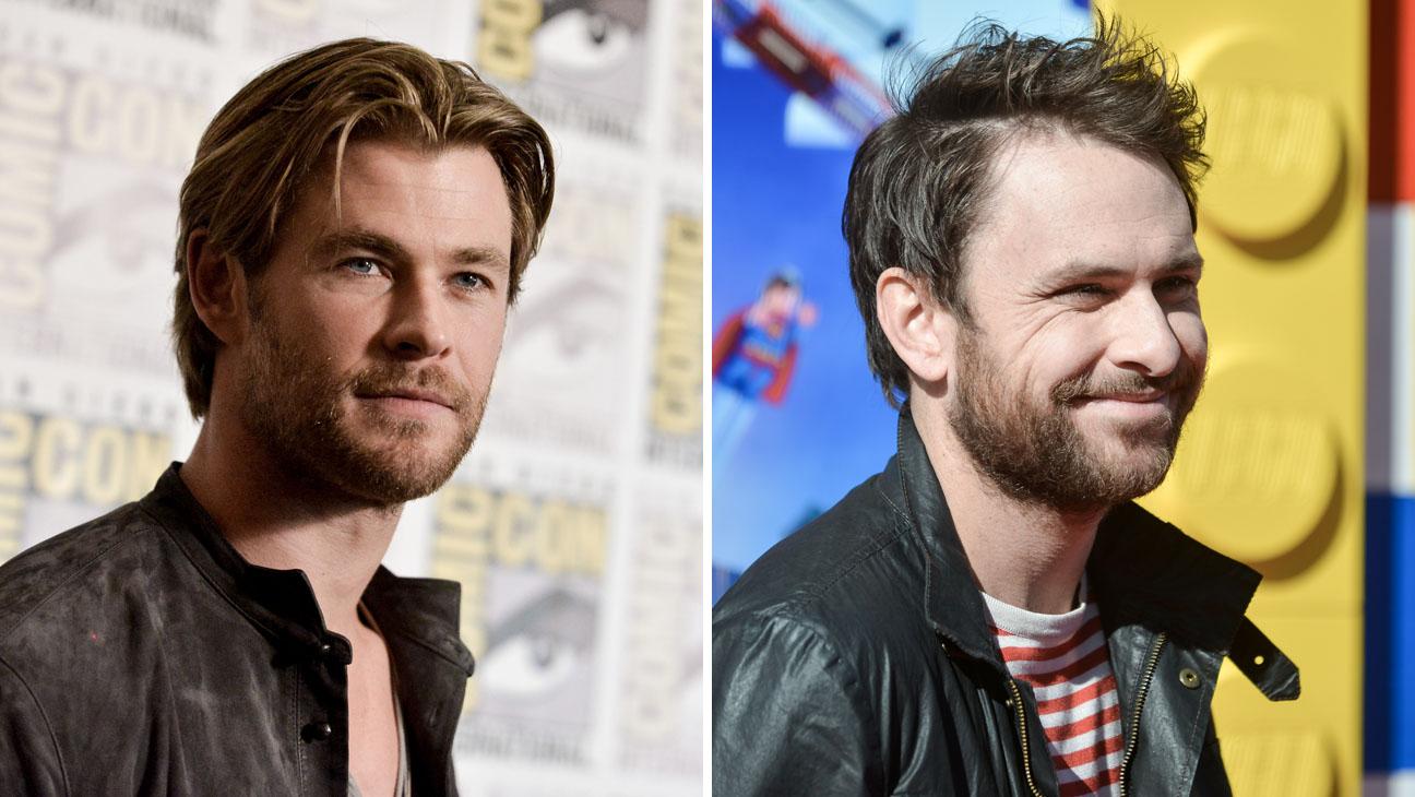 Chris Hemsworth Charlie Day - H 2014