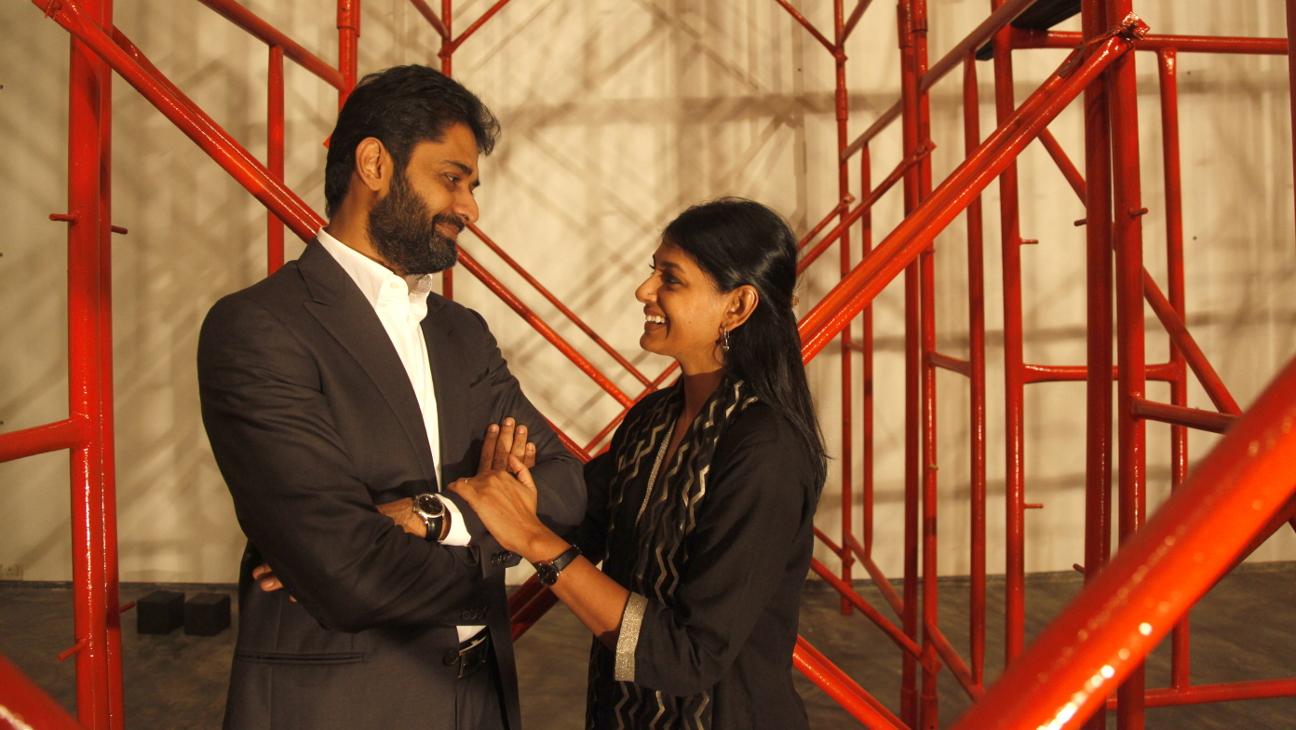 CinePlay - L-R - Subodh Maskara and Nandita Das - 2014 - H