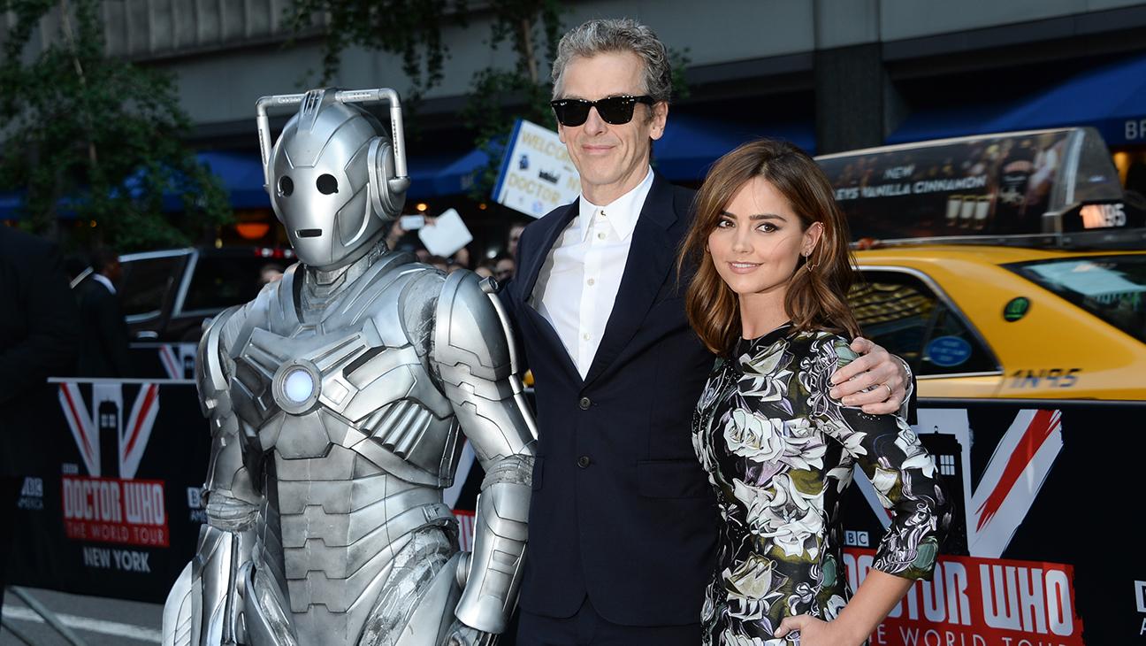 Doctor Who Peter Capaldi Jenna Coleman Cyberman H 2014