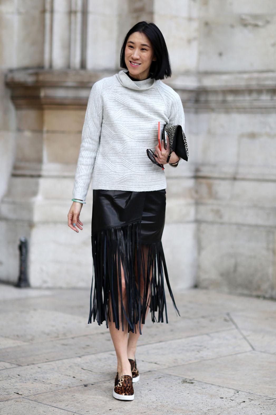 Eva Chen Paris Fashion Week - P 2014