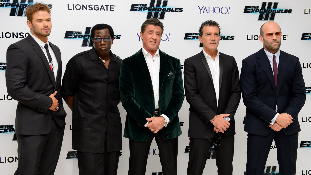 Expendables 3 Premiere Actors - H 2014