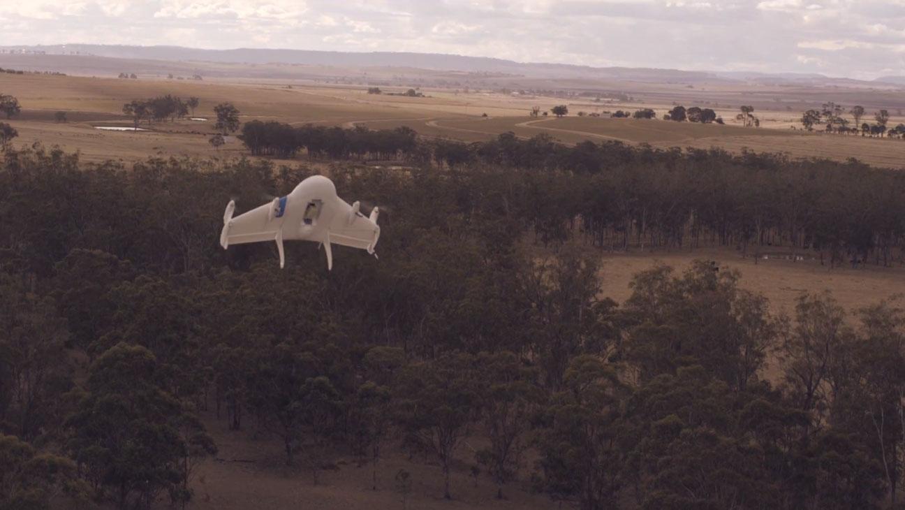 Google X Drone Testing - H 2014