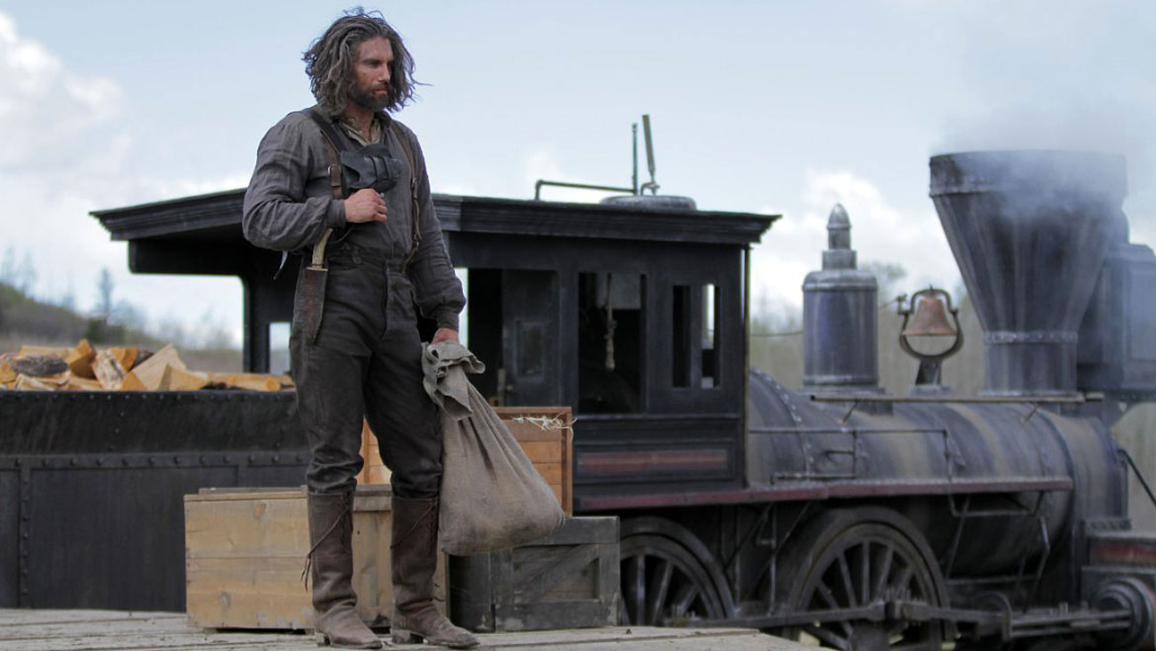 Hell on Wheels Train Station - H 2014