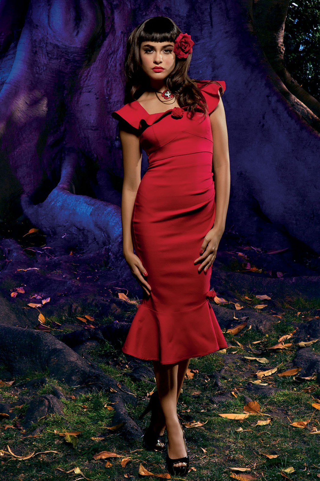 Hot Topic Red Dress - P 2014