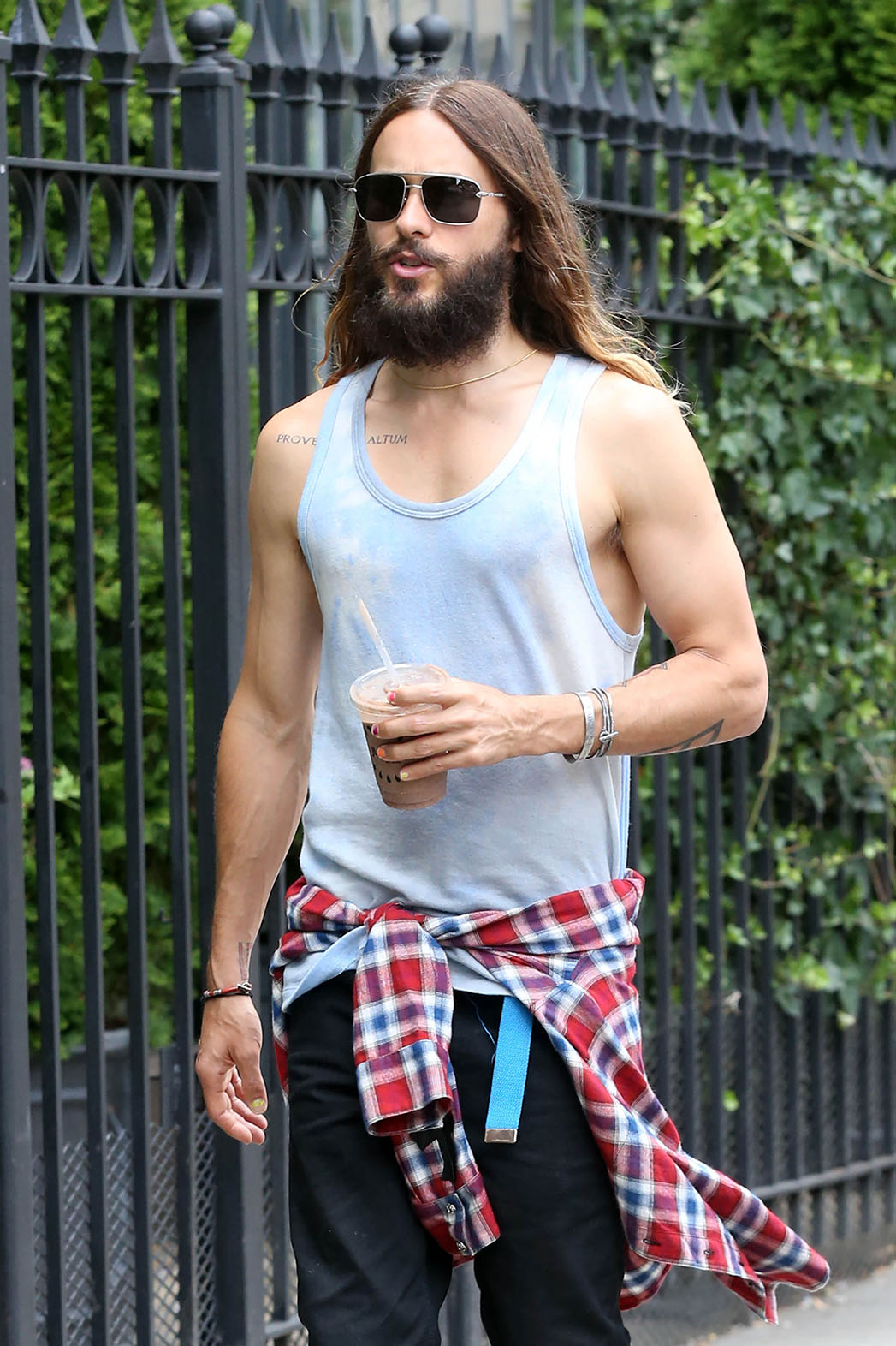 Jared Leto with Beard - P 2014