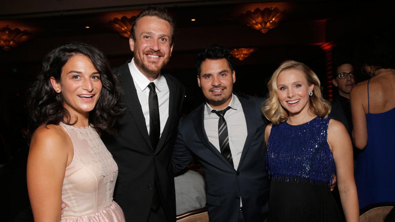 Jenny Slate, Jason Segel, Michael Pena and Kristen Bell - H 2014
