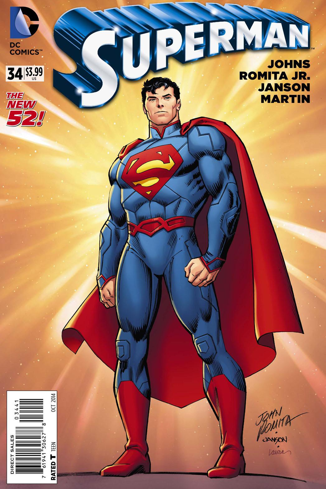 John Romita Snr Superman - P 2014