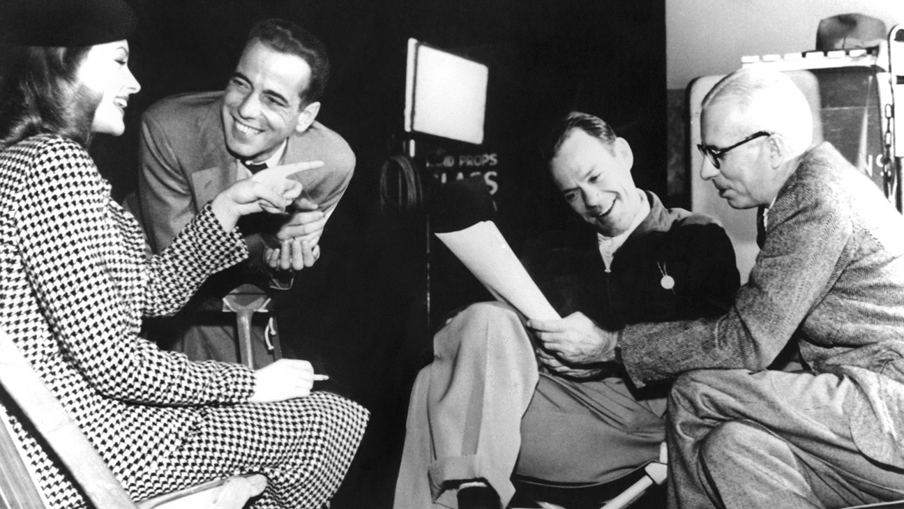 Lauren Bacall, Humphrey Bogart and director Howard Hawks - H 2014
