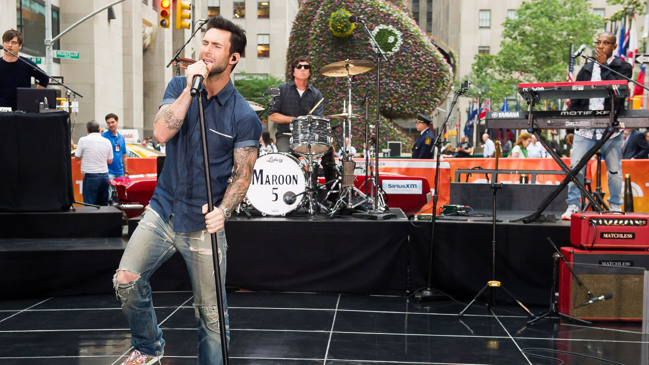 Maroon 5 Playing Today Show - H 2014